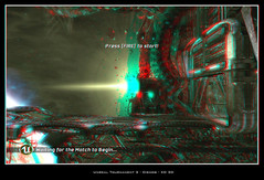 Unreal Tournament 3 #0039 (XD3D) Tags: 3 pc stereoscopic 3d games anaglyph tournament unreal xd