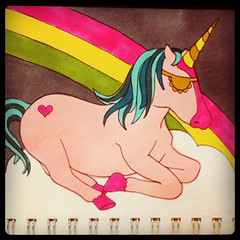 unicornlounging