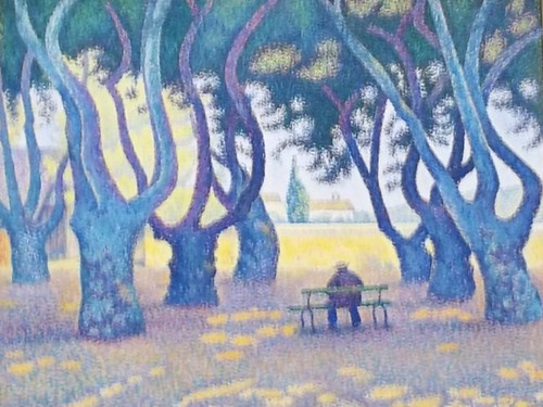 Paul Signac - Place des Lices, St. Tropez