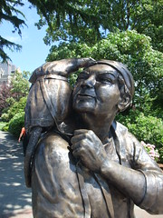 Emily Carr and friend