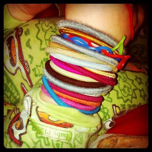 "Friday: Coleman's ""bracelets"""