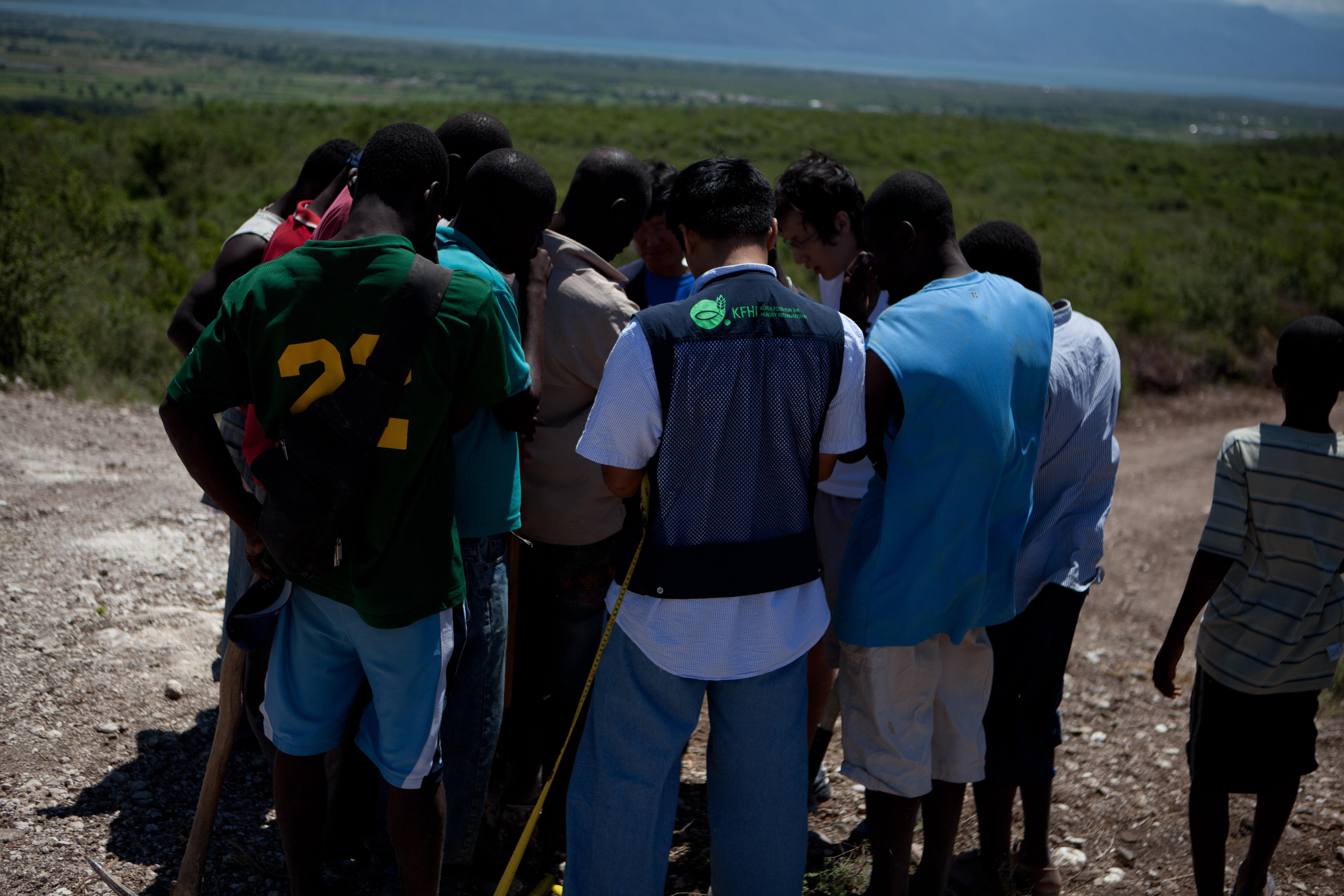 2011 아이티단기선교 건축현장 (6)