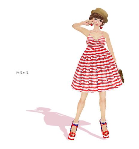 ^^MoulliezStars and Stripes Sundress 2011