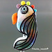 Single Bead : Parrot Colorful