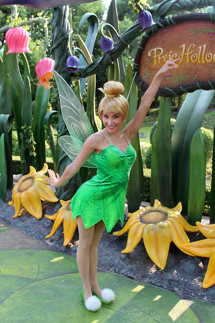 Meeting Tinker Bell