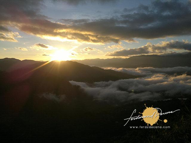 Sagada Kiltepan Sunrise