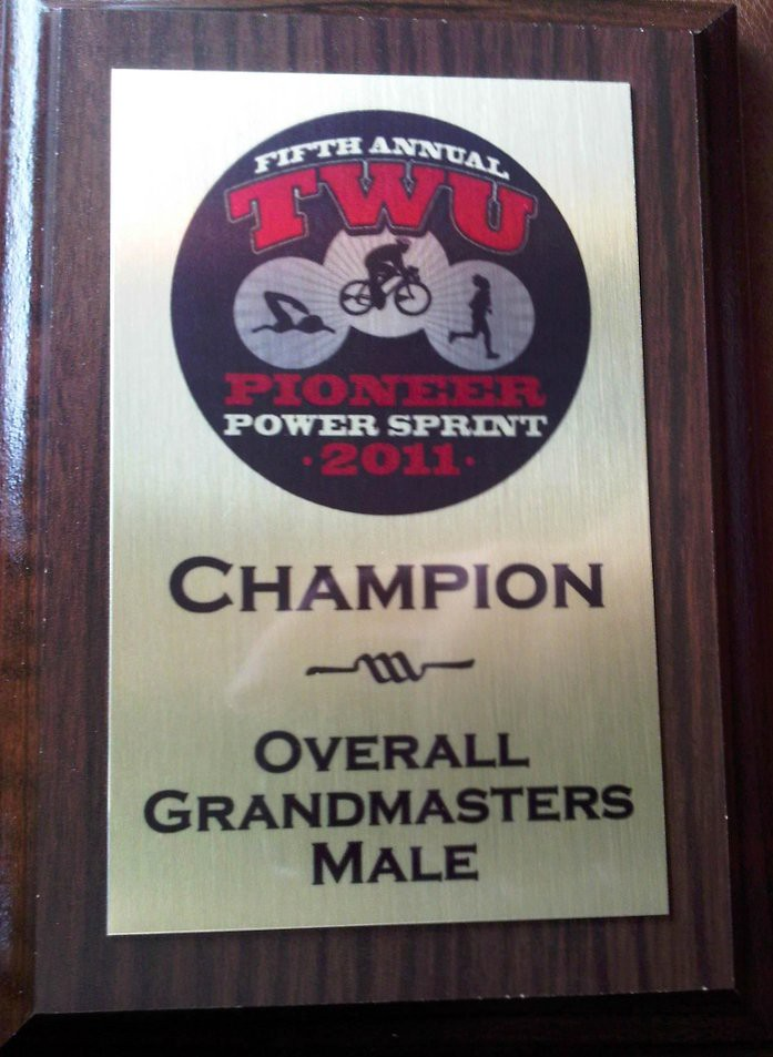 Grandmasters - Pioneer Power Sprint Tri