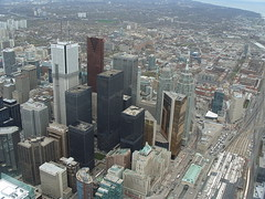 View of Toronto from CNN Tower