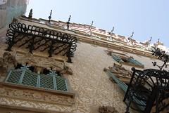 Facade of Casa Amatller, Barcelona