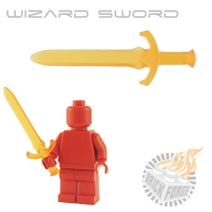 Wizard Sword (of Fire) - Trans Orange
