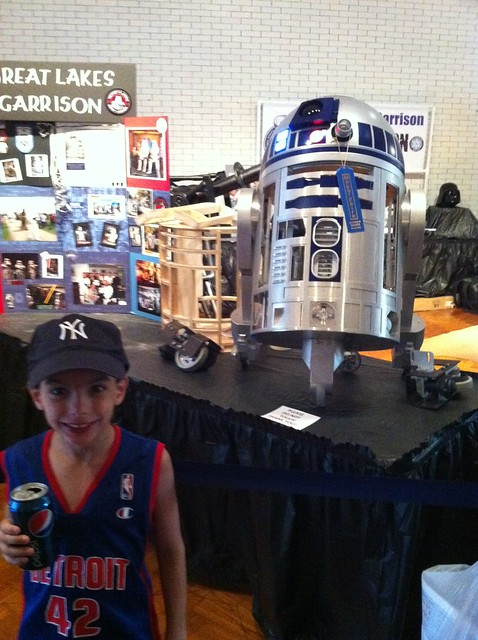 Luke & R2D2, Maker Faire Detroit