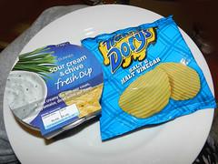 Crisps & dip