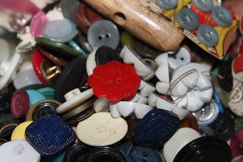 Inside the button tin