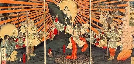 Deusa Amaterasu