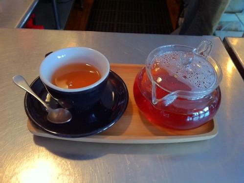 organic rooibos tea service