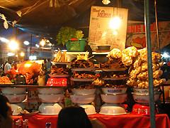 デンパサールとナイトマーケット(ストリートフード・屋台料理が味わえるオプショナルツアー)