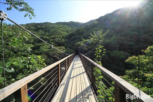 比地大滝つり橋
