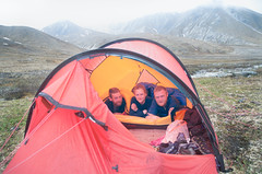 Tenting on the Tundra (Joe Stylos) Tags: camping alaska glacier climbing mckinley denalinationalpark muldrow hilleburg