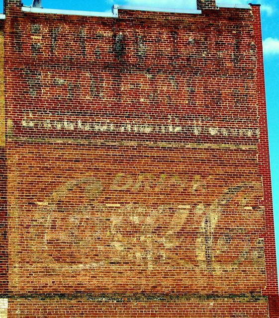 faded wall ads - Roanoke, VA