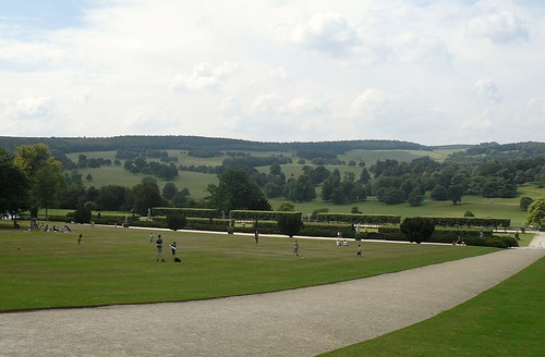 Parkland,Chatsworth House