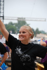 Lincoln @ 2011 IN State Fair Band Day (WayNet.org) Tags: show music indianapolis statefair guard band instrument lincoln marchingband milton lhs bandday waynecounty auxiliary waynecountyindiana cambridgecity pennville photobysteveholman eastgermantown indianastatefairbandday