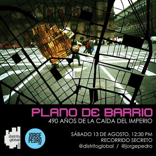 Plano de Barrio by jorgepedrouribe