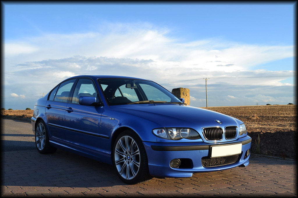 Bmw Individual Estoril Blue 320d Sport E46 Photo Zone E46zone