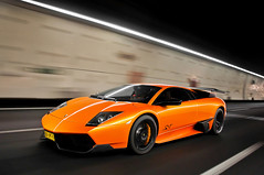 Automotive Awesomeness (Thomas van Rooij) Tags: madrid lighting light orange cars car speed underground photography high spain italian nikon driving photoshoot thomas fast tunnel automotive super bull exotic beast hd panning lamborghini supercar speeding rolling tracking sv autoblog exotics supercars murcielago videoshoot fotoshoot veloce d90 roadtest hypercar rooij worldcars superveloce autoblognl lp6704 lp670 thomasvanrooij wouterkarssen rijtest wwwautoblognl