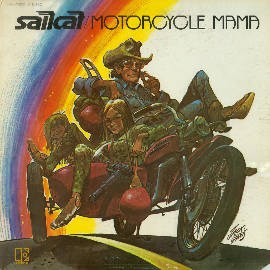 Jack Davis Sail Cat cover