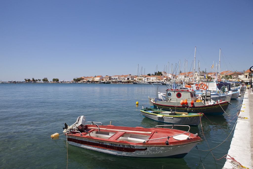 Boats in Pythagoreion
