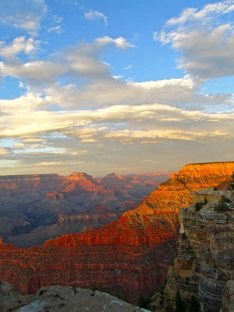 Grand Canyon Sunset, South Rim, Mather Point