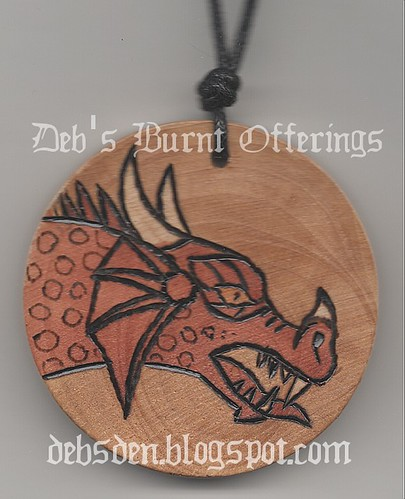 Dragon necklace by Debra Arnold