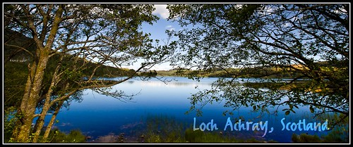 Early evening on Loch Achray