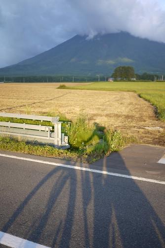 Cycling around Mt. Yotei, Hokkaido, Japan