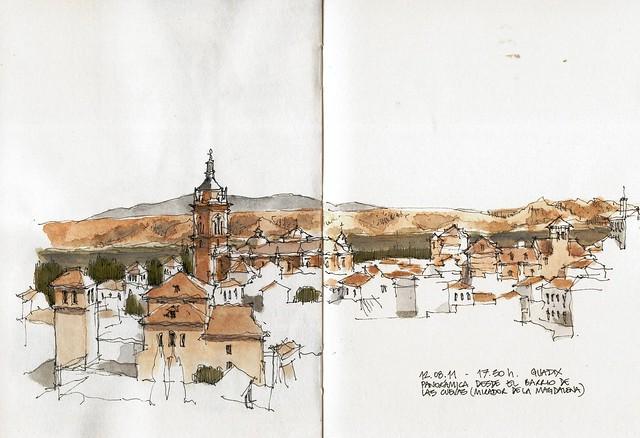 Guadix, panorama