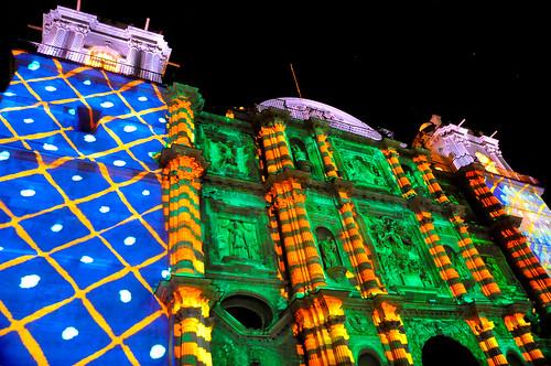 Espectáculo Multimedia Catedral Oaxaca (08)