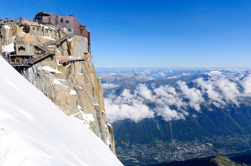 From Chamonix to Courmayer - Aiguille du Midi 30