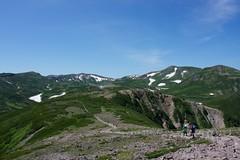 黒岳山頂から