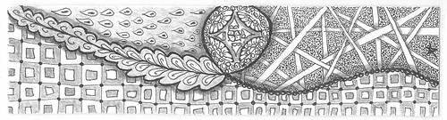 zentangle bookmark 003