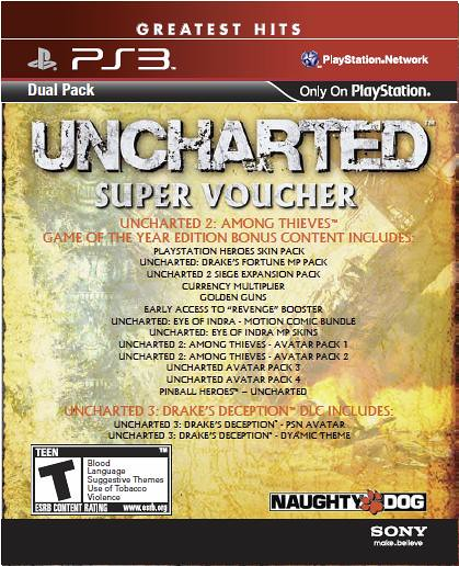 UNCHARTED DualPack: Super Voucher