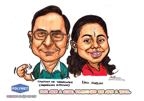 Caricatures for Polymet - 7