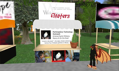 Floaters booth NPC 4th anniversary