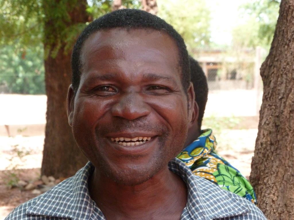 Un bénéficiaire de la formatino en agroécologie Togo