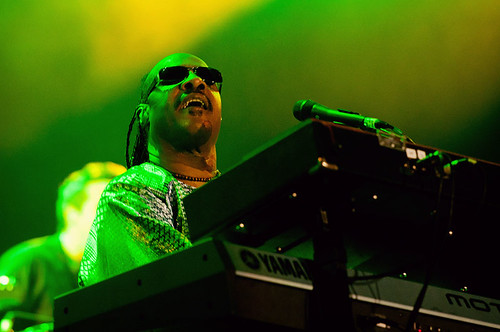 Stevie Wonder no Palco Mundo