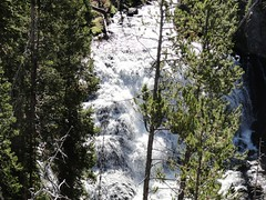 Kepler Cascades on the Firehole River (lhboudreau) Tags: park water river outdoors outdoor rivers cascades yellowstonenationalpark waters yellowstone wyoming cascade fireholeriver keplercascades wyomingrivers