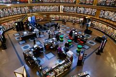 Public Library, Stockholm, Distagon 21mm (mraposio) Tags: zeiss canon eos sweden stockholm library 5d f28 ze gunnar markii distagon 21mm stadsbibliotek bibliotek erikgunnaraspblund aspblund