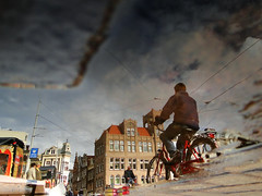 ...Is... (AmsterSam - The Wicked Reflectah) Tags: summer holland reflection water netherlands amsterdam bike puddle europe wicked nophotoshop lifeisgood carpediem unedited waterreflections stadsarchief 2011 amstersam reflectah amstersm amsterdamthebestcityintheworld reflectionsofamsterdam checkoutmywebsitewwwamstersamcom wickedreflections puddlepictures reflectyourworld sonyhx1 thewickedreflectah amstersmthewickedreflectah