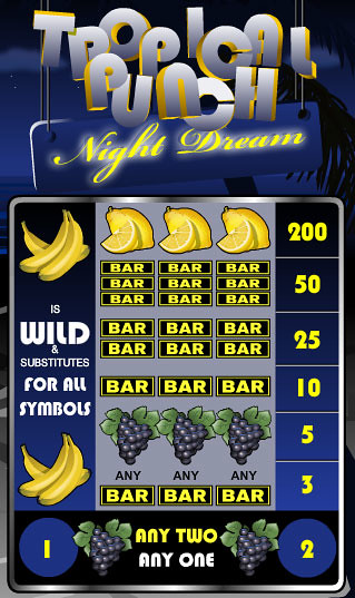 free Tropical Punch Night Dream slot game symbols