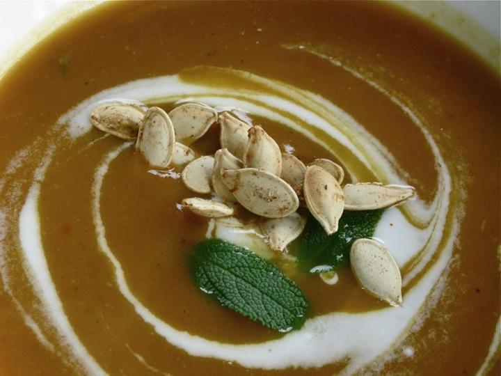 pumpkin yam soup 003