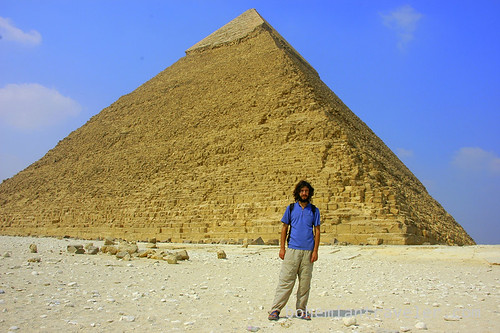 Stephen at the Giza Pyramids